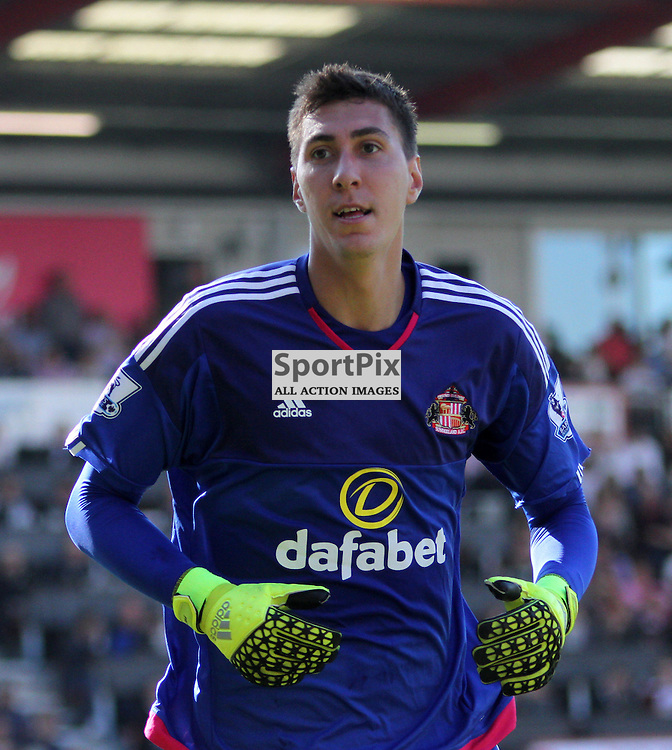 Costel Pantilimon During Bournemouth vs Sunderland on Saturday 19th September 2015.