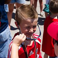 Chicago Fire vs LA Galaxy at  Toyota Park, Bridgeview, Illinois, July 9, 2012. Photo: George Strohl