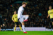 Leeds United forward Patrick Bamford (9)  during the EFL Sky Bet Championship match between Leeds United and Millwall at Elland Road, Leeds, England on 28 January 2020.