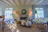 François-Xavier Lalanne's Flock of Sheep,  Further Ln, East Hampton, NY, summer home of Jacqueline Kennedy Onassis
