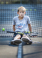 Jagger and Eli tennis