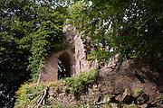 Ruine, Eulbacher Park, Michelstadt, Odenwald, Naturpark Bergstraße-Odenwald, Hessen, Deutschland | ruin, Eulbach Park, Michelstadt, Odenwald, Hesse, Germany