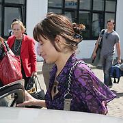 NLD/Amsterdam/20080624 - Aankomst van de nieuwe Bondgirl Olga Kurylenko