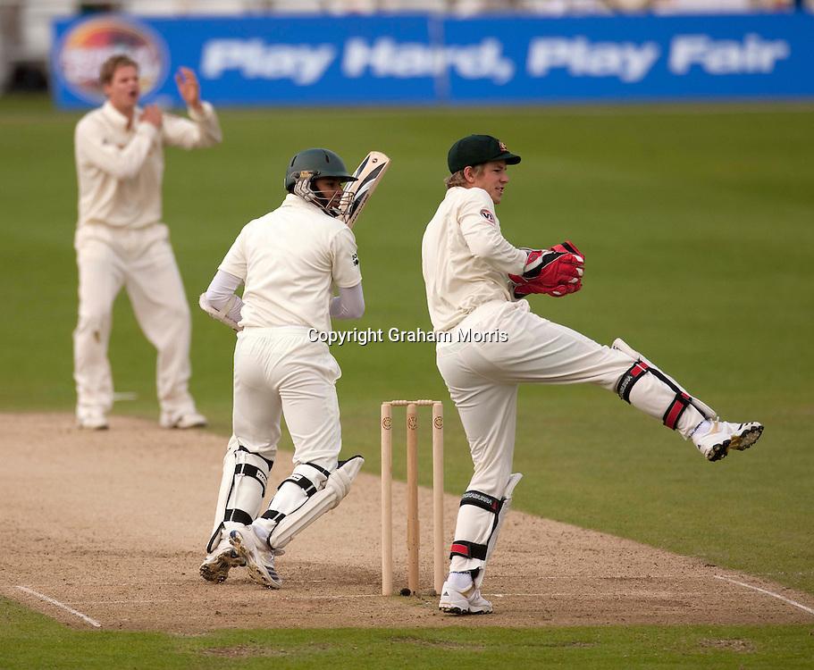 Azhar Ali bats during the second MCC Spirit of Cricket Test Match between Pakistan and Australia at Headingley, Leeds.  Photo: Graham Morris (Tel: +44(0)20 8969 4192 Email: sales@cricketpix.com) 23/07/10