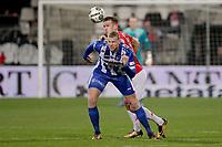 (L-R) *Henk Veerman* of SC Heerenveen, *Stijn Wuytens* of AZ Alkmaar