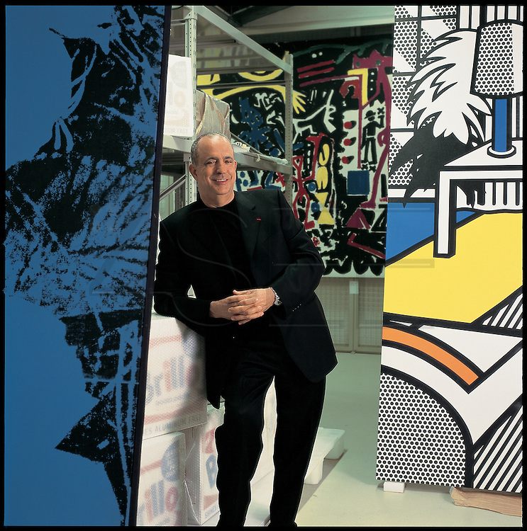 Joe Berardo, portuguese billionaire and art collector.
