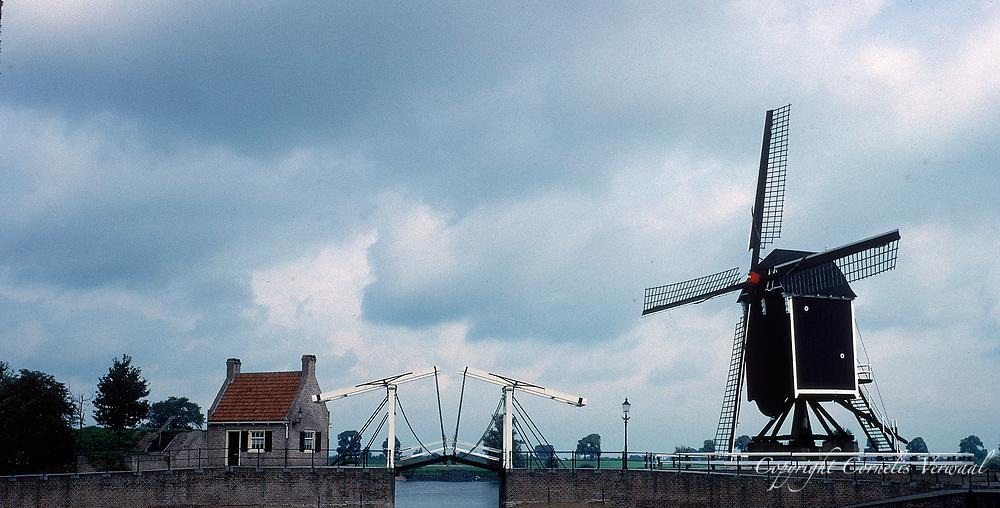 Windmill in Heusden, The Netherlands