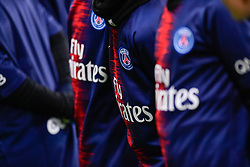 November 2, 2018 - Paris, Ile-de-France, France - The Paris Saint Germain jersey during the french Ligue 1 match between Paris Saint-Germain (PSG) and Lille (LOSC) at Parc des Princes stadium on November 2, 2018 in Paris, France. (Credit Image: © Julien Mattia/NurPhoto via ZUMA Press)