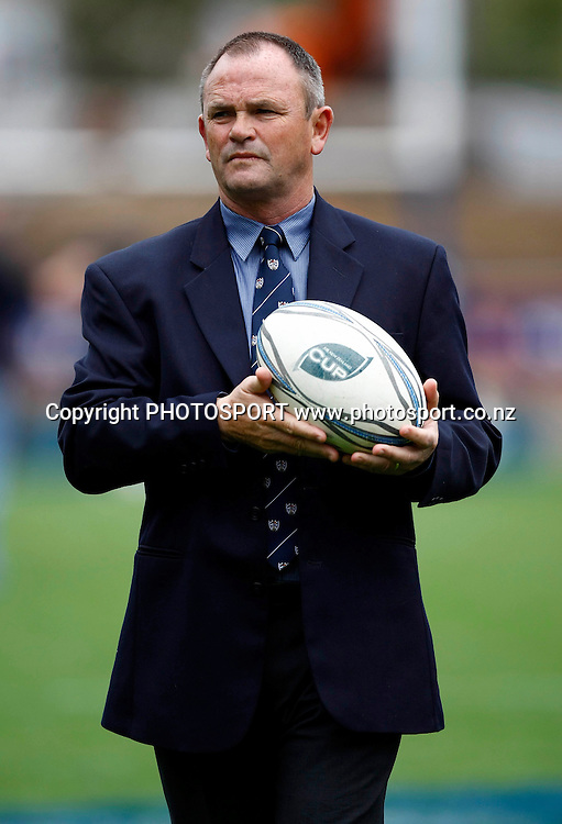 Auckland coach Mark Anscombe, Air NZ Cup, NPC rugby union. Battle of the Bridge, Auckland v North Harbour. Eden Park, Auckland. Saturday 19 September 2009. Photo: William Booth/PHOTOSPORT