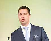 UKIP Annual Party Conference <br /> 26th September 2014 <br /> at Doncaster Racecourse, Great Britain <br /> <br /> <br /> Speeches by <br /> <br /> <br /> <br /> Steven Woolfe MEP<br /> <br /> <br /> <br /> <br /> Photograph by Elliott Franks <br /> Image licensed to Elliott Franks Photography Services