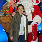 London, England, UK. 16th November 2017. Anneka Rica and her daughter attend the VIP launch of Hyde Park Winter Wonderland 2017 for a preview. tomorrow is opening for the public