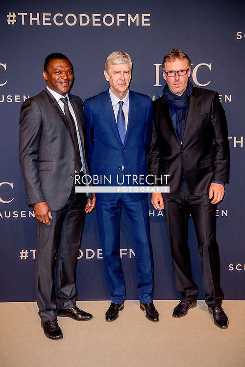 17-1-217 -GENEVE GENEVA SWITSERLAND SWISS ZWITSERLAND -  ARSÈNE WENGER SIHH 2017  IWC gala event «Decoding the Beauty of Time» COPYRIGHT ROBIN UTRECHT