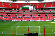 Wembley Stadium during the FIFA World Cup Qualifier group stage match between England and Lithuania at Wembley Stadium, London, England on 26 March 2017. Photo by Matthew Redman.