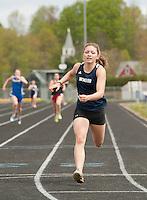 Gilford High School track meet May 5, 2012.