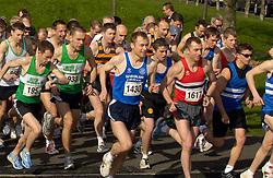 10km road race North Tyneside UK