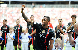 09.08.2014, Allianz Arena, Muenchen, GER, 1. FBL, FC Bayern Muenchen, Saisoneröffung, im Bild Jerome Boateng (FC Bayern Muenchen) // during the saison opening of German 1st Bundesliga Club FC Bayern Munich at the Allianz Arena in Muenchen, Germany on 2014/08/09. EXPA Pictures © 2014, PhotoCredit: EXPA/ Eibner-Pressefoto/ Stuetzle<br /> <br /> *****ATTENTION - OUT of GER*****