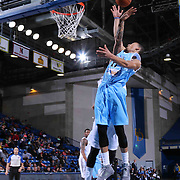 Delaware 87ers Guard Jared Cunningham (17) drives towards the basket in the first half of a NBA D-league regular season basketball game between the Delaware 87ers and the Texas Legends (Dallas Mavericks) Sunday, Jan. 25, 2015 at The Bob Carpenter Sports Convocation Center in Newark, DEL