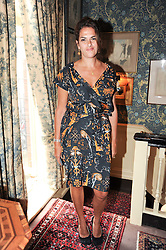 TRACEY EMIN at a party to celebrate the publication of Imperial Bedrooms by Bret Easton Ellis held at Mark's Club, 46 Charles Street, London W1 on 15th July 2010.