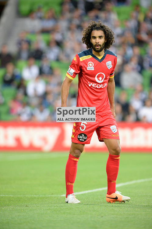 5. Osama Malik (ADU0 Hyundai A-League, 28th November 2014,  Round 8 match between Melbourne Victory v Adelaide United meet in a 10th Anniversary clash at Aami Park, Melbourne, Australia.  Final score 3:2 to Victory in front of 22,334 crowd. © Mark Avellino | SportPix.org.uk