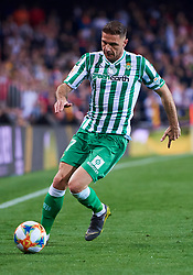 February 28, 2019 - Valencia, U.S. - VALENCIA, SPAIN - FEBRUARY 28: Joaquin Sanchez, midfielder of Real Betis Balompie with the ball during the Copa del Rey match between Valencia CF and Real Betis Balompie at Mestalla stadium on February 28, 2019 in Valencia, Spain. (Photo by Carlos Sanchez Martinez/Icon Sportswire) (Credit Image: © Carlos Sanchez Martinez/Icon SMI via ZUMA Press)