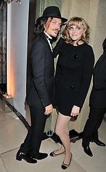 SOPHIE DAHL and MATTHEW WILLIAMSON at the Harper's Bazaar Women of the Year Awards 2011 held at Claridge's, Brook Street, London on 7th November 2011.