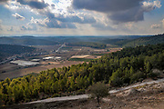 Israel, Judean Mountains, Tel Azekah or (Tell Azekah) has been identified with the biblical Azekah, dating back to the Canaanite period.