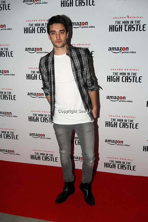 tom parker attend the european premiere of season 2 of the man in the high castle