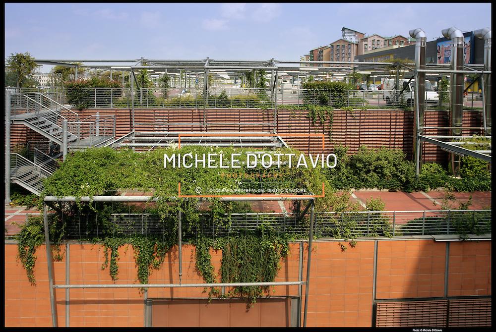 Torino, coperture verdi per il parcheggio del centro commerciale Dora di Spina 3
