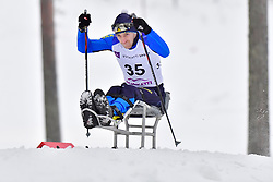 KRAVCHUK Vasyl, UKR, LW11 at the 2018 ParaNordic World Cup Vuokatti in Finland