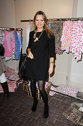 MARIA HATZISTEFANIS at a shopping afternoon hosted by Amanda Kyme and Tamara Beckwith featuring designs from Elizabeth Hurley held at the Cadogan Hotel, 75 Sloane Street, London SW1 on 23rd November 2010.