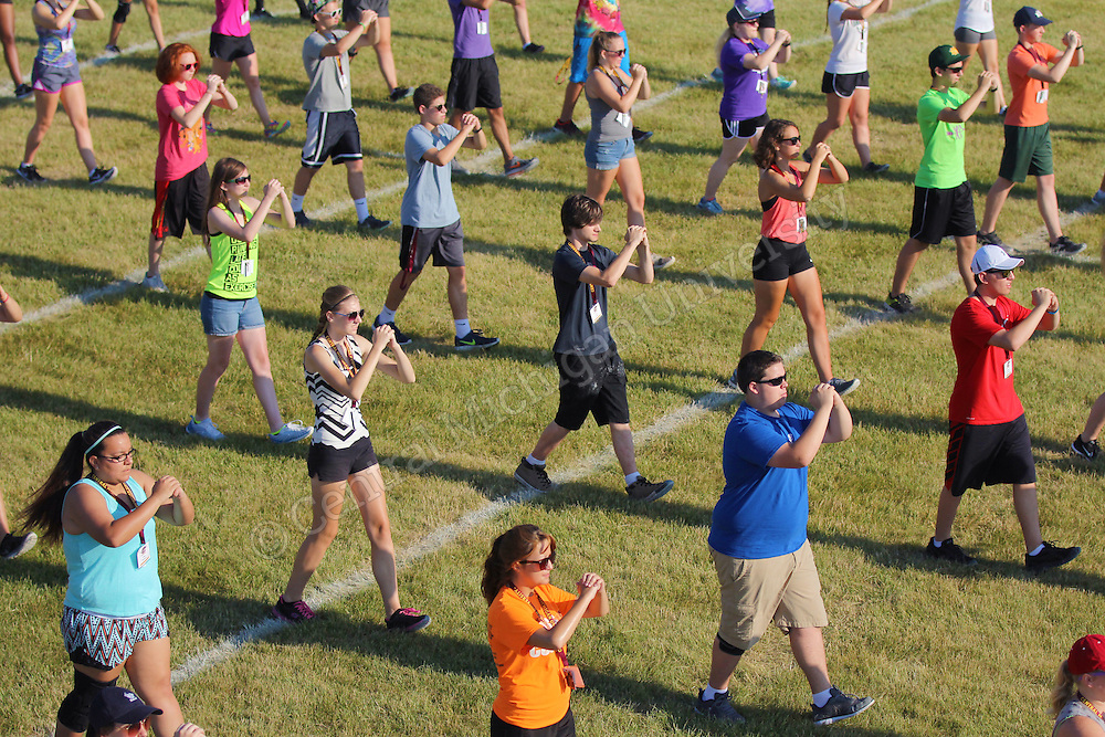 Drum Major and Color Guard Camp<br /> By Monica Bradburn