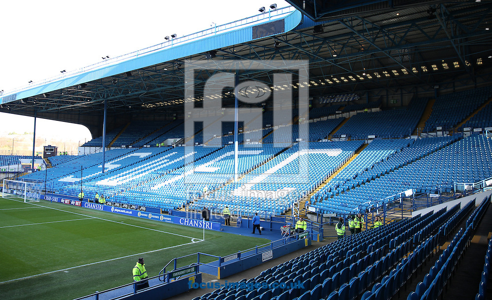 A general stadium view before the Sky Bet Championship match at Hillsborough, Sheffield<br /> Picture by James Wilson/Focus Images Ltd 07709 548263<br /> 14/01/2017
