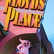 Floyd's Place, BBQ joint and bar on Lower Queen Anne, Seattle, Washington