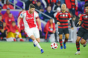 Ajax forward Klaas-Jan Huntelaar (9) brings a ball upfield during a Florida Cup match against Flamengo at Orlando City Stadium on Jan. 10, 2019 in Orlando, Florida. <br /> <br /> ©2019 Scott A. Miller