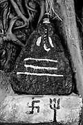 Ganesh tree shrine