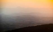 12/08/18 - PIERRE SUR HAUTE - PUY DE DOME - FRANCE - Vue sur la Limagne et la Chaine des Puys des Estives des Hautes Chaumes - Photo Jerome CHABANNE