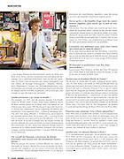 """""""Françoise Mouly: La Cover-Girl du New Yorker"""", France-Amerique, December 2012"""