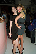 TALLULA RILEY AND TAMZIN EGERTON. 240th Royal Academy Summer Exhibition fundraising private view. Piccadilly. London.4 June 2008.  *** Local Caption *** -DO NOT ARCHIVE-© Copyright Photograph by Dafydd Jones. 248 Clapham Rd. London SW9 0PZ. Tel 0207 820 0771. www.dafjones.com.