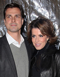 Natasha Kaplinksy and partner arriving at the Cirque Du Soleil: Totem - gala night held at  the Royal Albert Hall in London, Thursday 5th January 2012. Photo by: Stephen Lock / i-Images