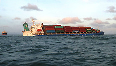 NOV 08 2013 Sinking South Korean container ship