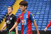 Chung-Yong Lee getting some minutes under his belt during the Final Third Development League match between U21 Crystal Palace and U21 Bristol City at Selhurst Park, London, England on 3 November 2015. Photo by Michael Hulf.
