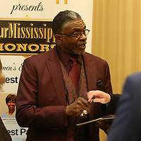 Award-winning actor Keith David signs autographs Saturday evening at his meet and greet before the Our Mississippi Honors Gala where he was the special guest