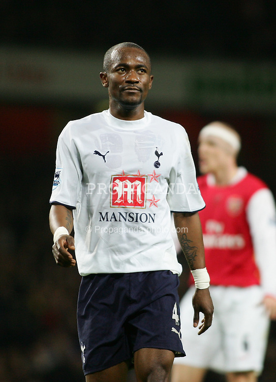LONDON, ENGLAND - Wednesday, January 31, 2007: Tottenham Hotspur's Didier Zokora during the Football League Cup Semi-Final 2nd Leg against Arsenal at the Emirates Stadium. (Pic by Chris Ratcliffe/Propaganda)