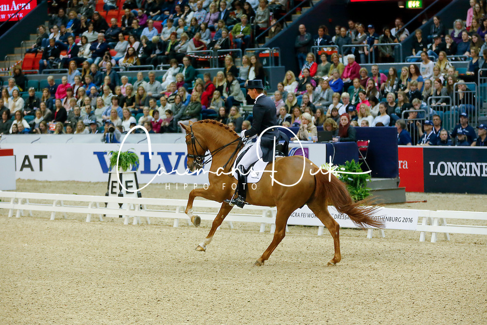 Kittel Patrick, (SWE), Watermill Scandic HBC<br /> Grand Prix Freestyle<br /> Reem Acra FEI World Cup Dressage Final II<br /> © Dirk Caremans