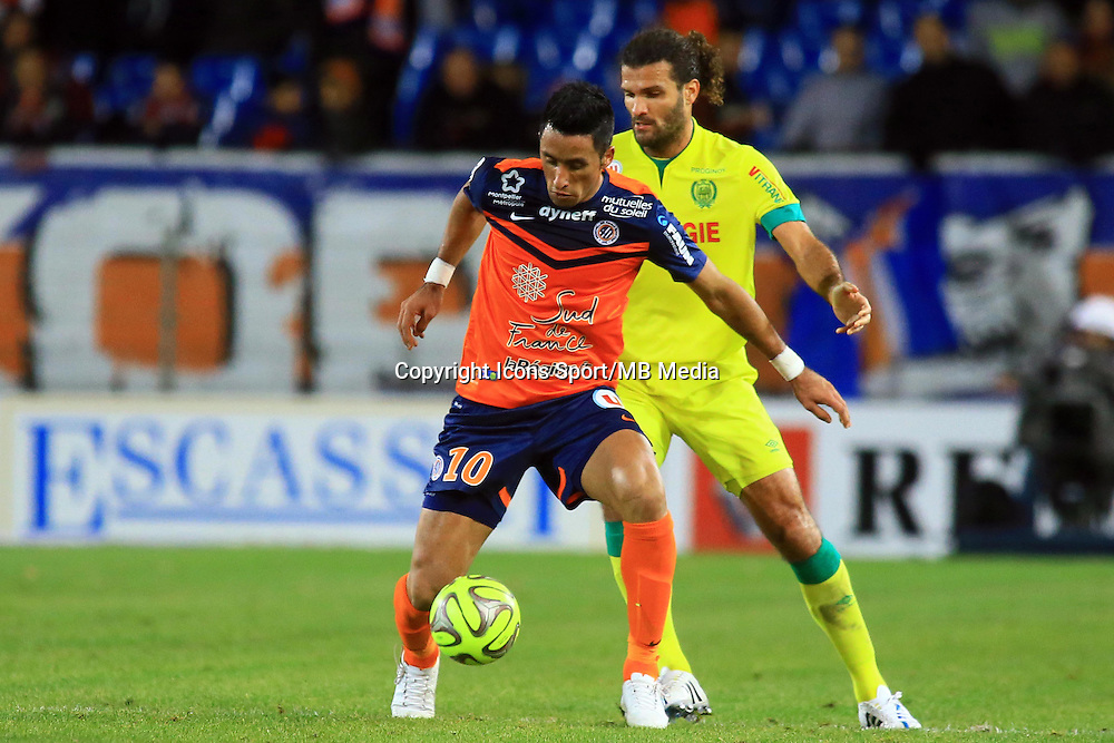 Lucas BARRIOS  - 24.01.2015 - Montpellier / Nantes  - 22eme journee de Ligue1<br />