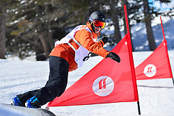 Europa Cup Finals Banked Slalom, MENTEL-SPEE Bibian, NED at the 2016 IPC Snowboard Europa Cup Finals and World Cup