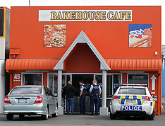 Rotorua-Armed robbery at Bakehouse Cafe