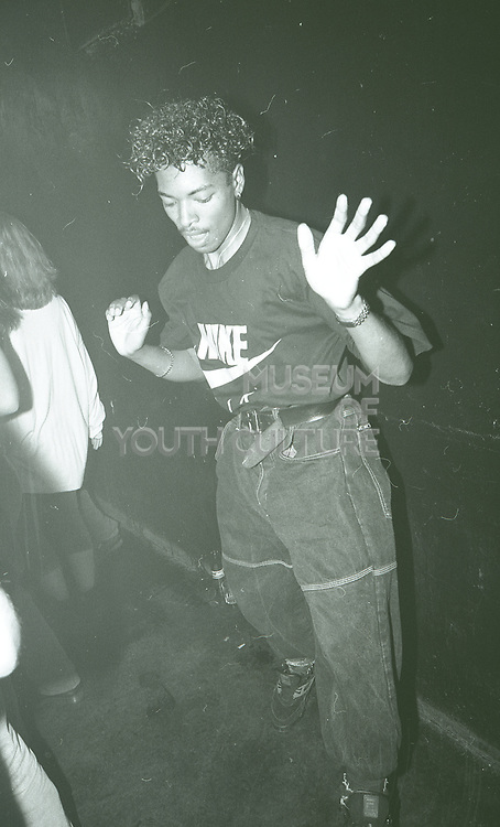 Raver Skanking, The Boardwalk, Manchester, 1989.