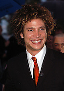 """Justin Guarini, American Idol runner-up and Doylestown native greets fans at an advance screening of the film """"From Justin to Kelly"""" after being honored at te Regal Warrington Crossing 22 Theater June 13, 2003 in Warrington, Pennsylvania. (Photo by William Thomas Cain/photodx.com)"""