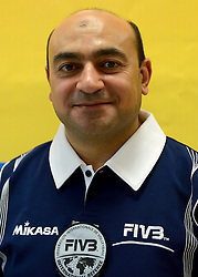 08-08-2014 NED: FIVB Grand Prix Nederland - Puerto Rico, Doetinchem<br /> Official FIVB referee Abderazek, Hariz (TUN)